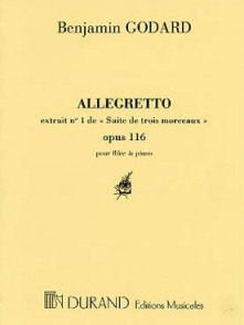 GODARD B. ALLEGRETTO OP 116/1 FLUTE