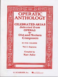 OPERATIC ANTHOLOGY VOL 1 SOPRANO