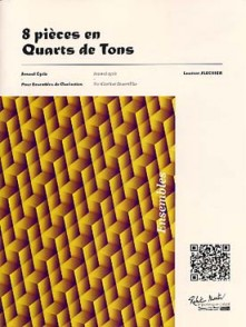 FLECHIER L. 8 PIECES EN QUARTS DE TONS 2, 3 ET 4 CLARINETTES
