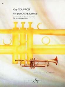 TOUVRON G. UN DIMANCHE A PARIS TROMPETTE