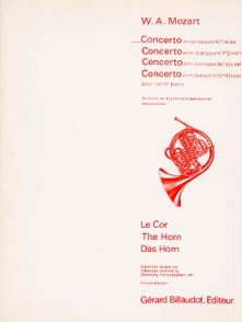 MOZART W.A. CONCERTO N°1 KV 412 COR