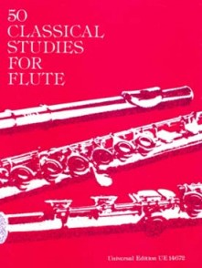 VESTER 50 CLASSICAL STUDIES FOR FLUTE