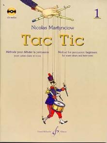 MARTYNCIOW N. TAC TIC VOL 1 PERCUSSION