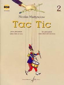 MARTYNCIOW N. TAC TIC VOL 2 PERCUSSION
