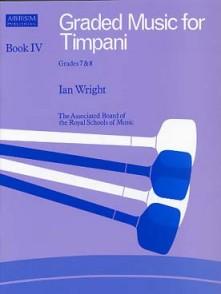 WRIGHT I. GRADED MUSIC FOR TIMPANI VOL 4