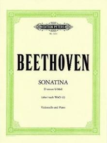 BEETHOVEN L.V. SONATINA RE MINEUR VIOLONCELLE