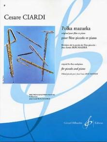 CIARDI C. POLKA MAZURKA FLUTE PICCOLO