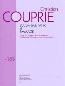 COUPRIE C. CA VA PAR DEUX ET RAMAGE BATTERIE