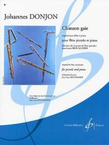 DONJON J. CHANSON GAIE FLUTE PICCOLO