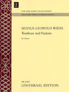 WEISS S.L. TOMBEAU ET FANTAISIE GUITARE