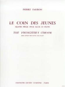 PAUBON P. LE COIN DES JEUNES FLUTE