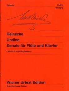 REINECKE C. SONATE ONDINE OPUS 167 FLUTE