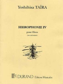 TAIRA Y. HIEROPHONIE IV FLUTE