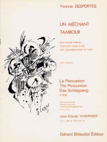 DESPORTES Y. UN MECHANT TAMBOUR PERCUSSION