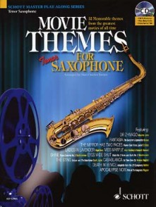 MOVIE THEMES FOR SAXOPHONE TENOR