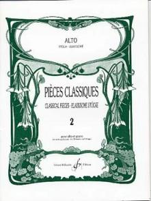 PIECES CLASSIQUES VOL 2 ALTO