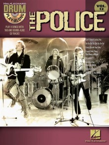 DRUM PLAY-ALONG VOL 12 THE POLICE