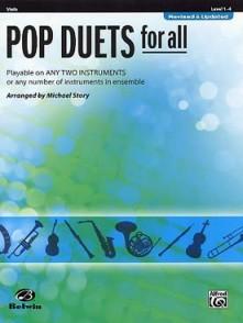 STORY M. POP DUETS FOR ALL ALTOS