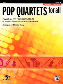 STORY M. POP QUARTETS FOR ALL ALTOS