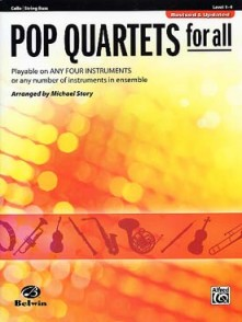 POP QUARTETS FOR ALL VIOLONCELLES OU CONTREBASSES