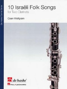WOLFGRAM C. 10 ISRAELI FOLK SONGS 2 CLARINETTES