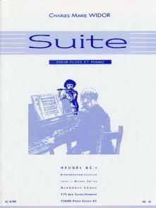 WIDOR C.M. SUITE FLUTE