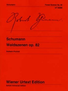 SCHUMANN F. SCENES DE LA FORET OP 82 PIANO