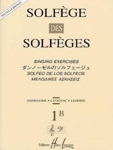 SOLFEGE DES SOLFEGES VOL 1B
