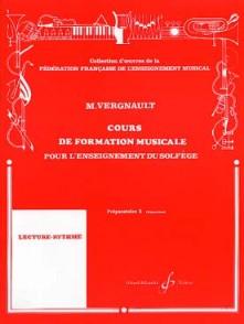 VERGNAULT M. COURS DE FORMATION MUSICALE P2