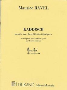 RAVEL M. KADDISCH VIOLON