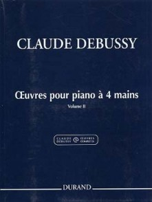 DEBUSSY C. OEUVRES VOL 2 PIANO 4 MAINS