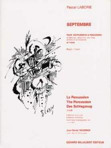 LABORIE P. SEPTEMBRE PERCUSSIONS
