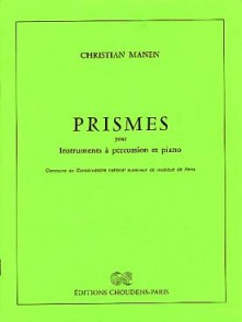 MANEN C. PRISMES PERCUSSION