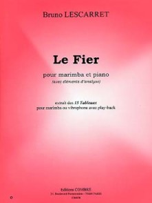 LESCARRET B. LE FIER MARIMBA