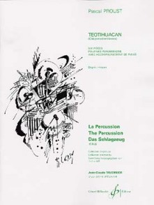 PROUST P. TEOTIHUACAN PERCUSSIONS