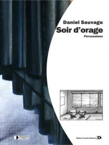 SAUVAGE D. SOIR D'ORAGE PERCUSSIONS