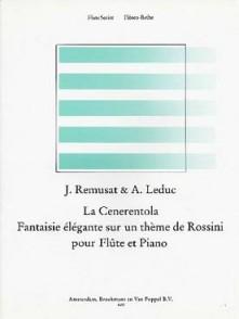 REMUSAT J./LEDUC A. LA CENERENTOLA FANTAISIE FLUTE