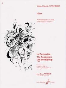 TAVERNIER J.C. FELIX PERCUSSIONS