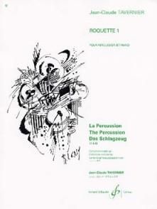TAVERNIER J.C. ROQUETTE 1 PERCUSSION