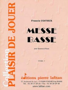 COITEUX F. MESSE BASSE BASSON