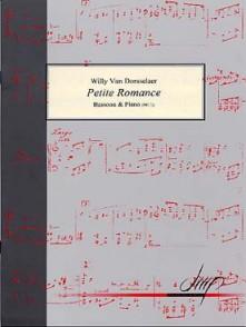 VAN DORSSELAER W. PETITE ROMANCE BASSON
