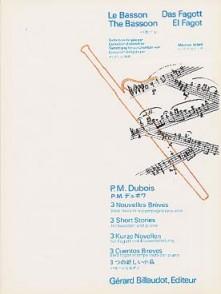 DUBOIS P.M. NOUVELLES BREVES BASSON
