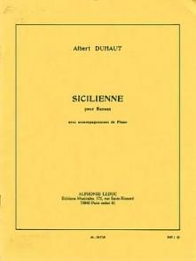 DUHAUT A. SICILIENNE BASSON