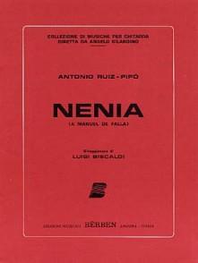 RUIZ-PIPO A. NENIA GUITARE