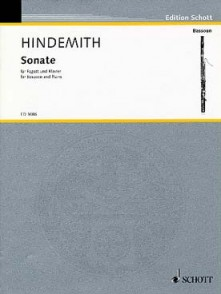 HINDEMITH P. SONATE BASSON