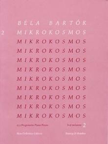 BARTOK B. MIKROKOSMOS VOL 2 PIANO