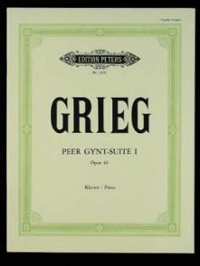 GRIEG E. PEER GYNT SUITE N°1 OP 46 PIANO