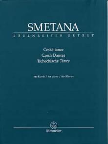 SMETANA D. DANSES TCHEQUES PIANO