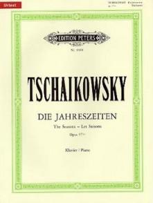 TCHAIKOWSKY P.I. LES SAISONS OP 37 BIS PIANO
