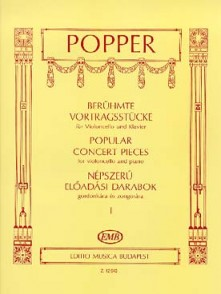 POPPER D. POPULAR CONCERT PIECES VOL 1 VIOLONCELLE